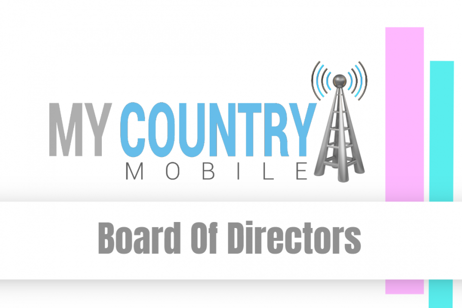 Board Of Directors - My Country Mobile