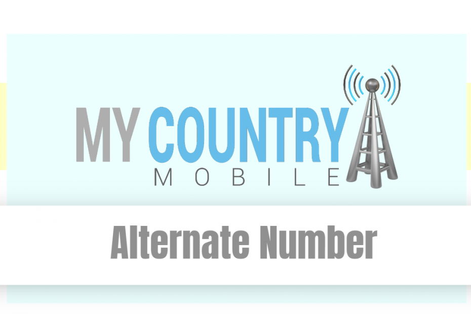 Alternate Number - My Country Mobile
