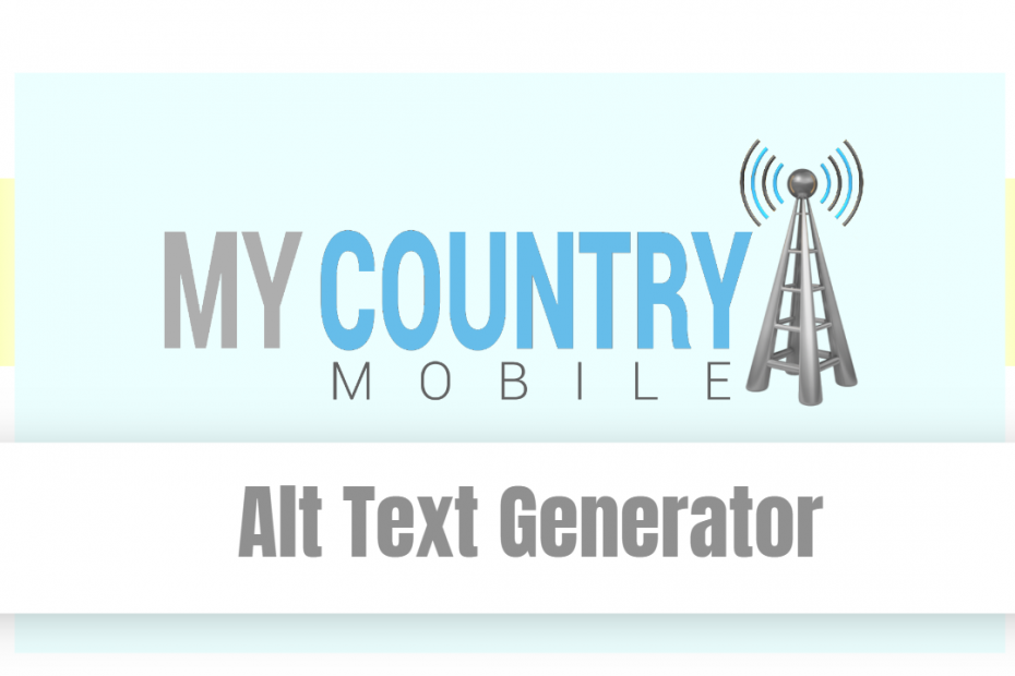 Alt Text Generator - My Country Mobile