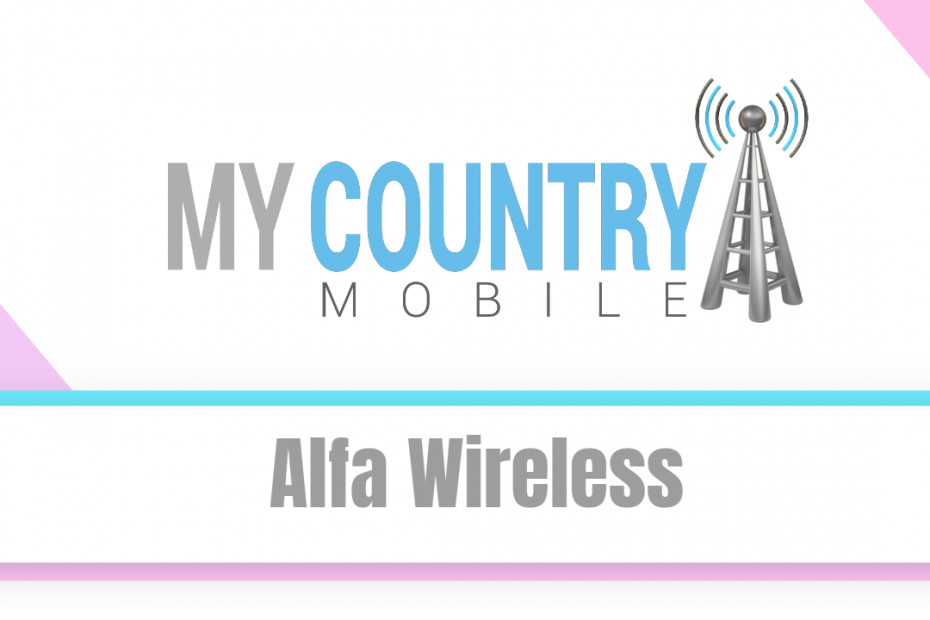 Alfa Wireless - My Country Mobile
